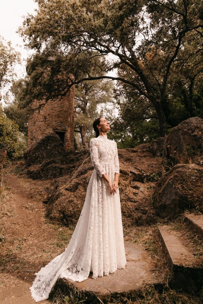 Vestidos de novia 2022 Silvia Fernandez Duna 46