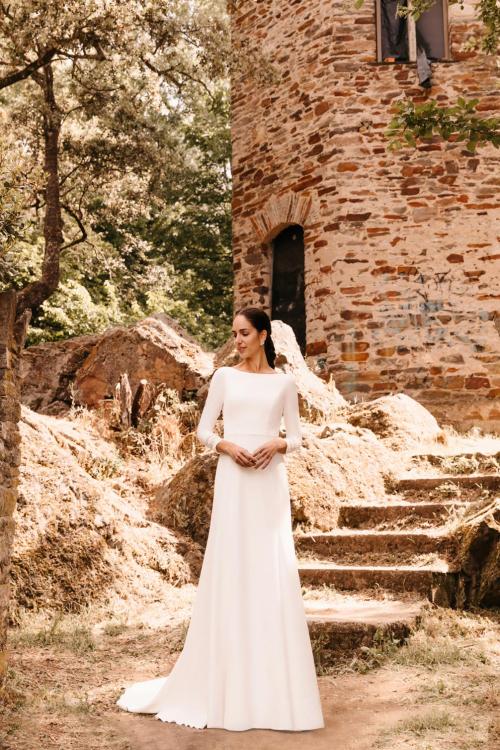 Vestidos de novia 2022 Silvia Fernandez Donna 26