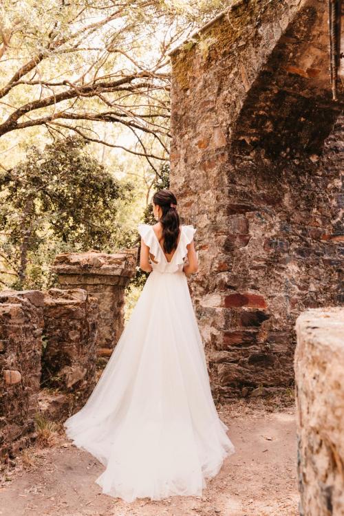 Vestidos de novia 2022 Silvia Fernandez Dalila 43