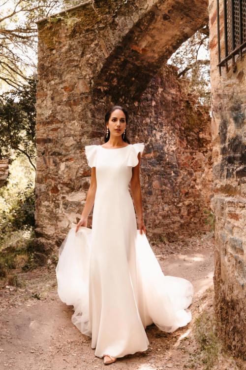 Vestidos de novia 2022 Silvia Fernandez Dalila 76