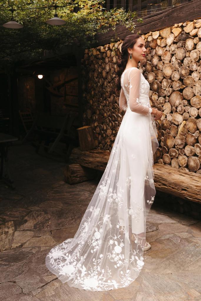 Vestidos de novia 2022 Silvia Fernandez Damaris 32