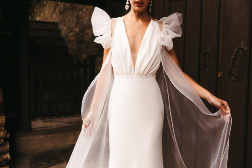 Vestidos de novia 2022 Silvia Fernandez Daviana 100