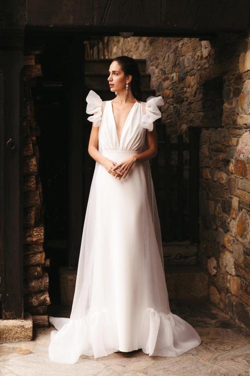 Vestidos de novia 2022 Silvia Fernandez Daviana 50
