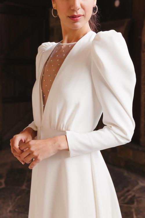 Vestidos de novia 2022 Silvia Fernandez Destino 18-2