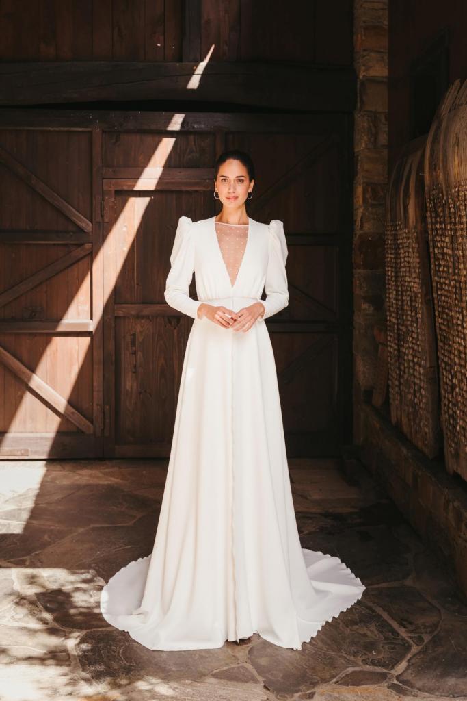 Vestidos de novia 2022 Silvia Fernandez Destino 30