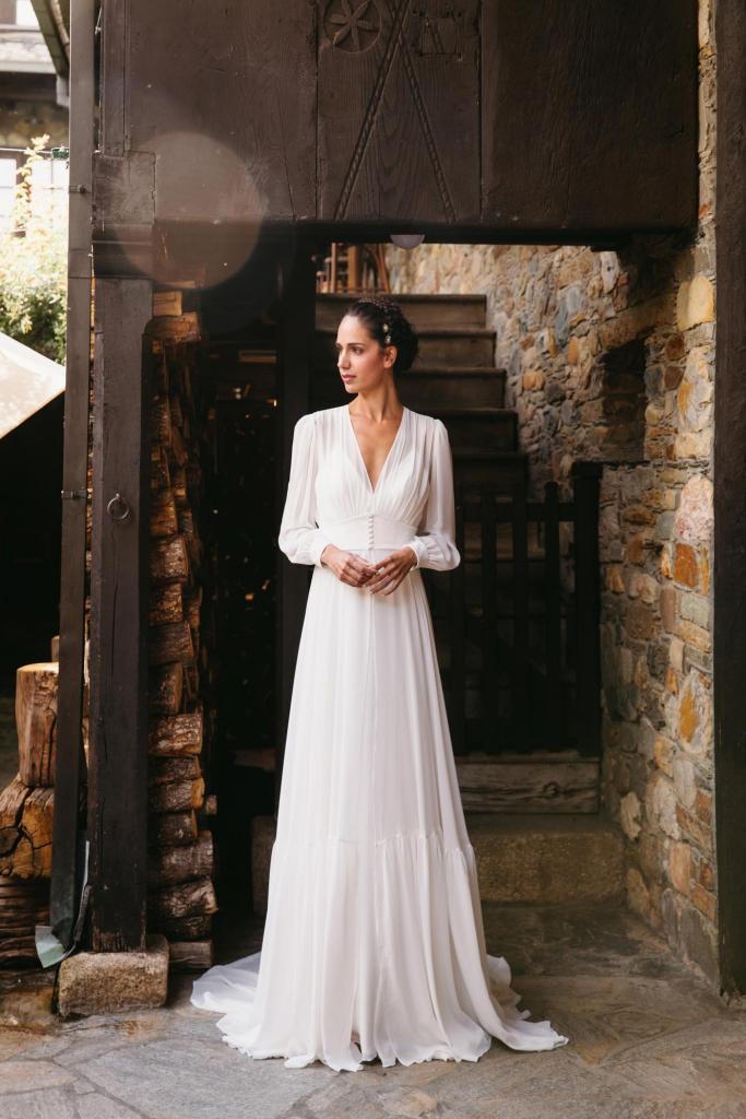 Vestidos de novia 2022 Silvia Fernandez Delicia 39