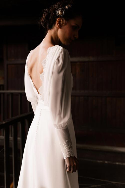 Vestidos de novia 2022 Silvia Fernandez Dinastia 29