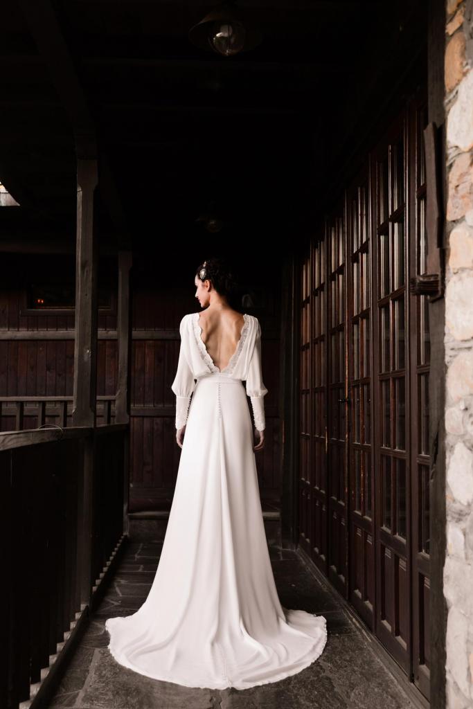 Vestidos de novia 2022 Silvia Fernandez Dinastia 6