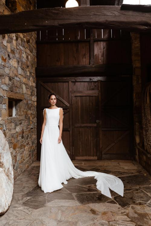 Vestidos de novia 2022 Silvia Fernandez Dandy 24