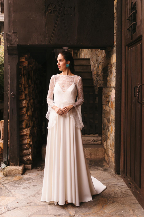 Vestidos de novia 2022 Silvia Fernandez Dafne 1
