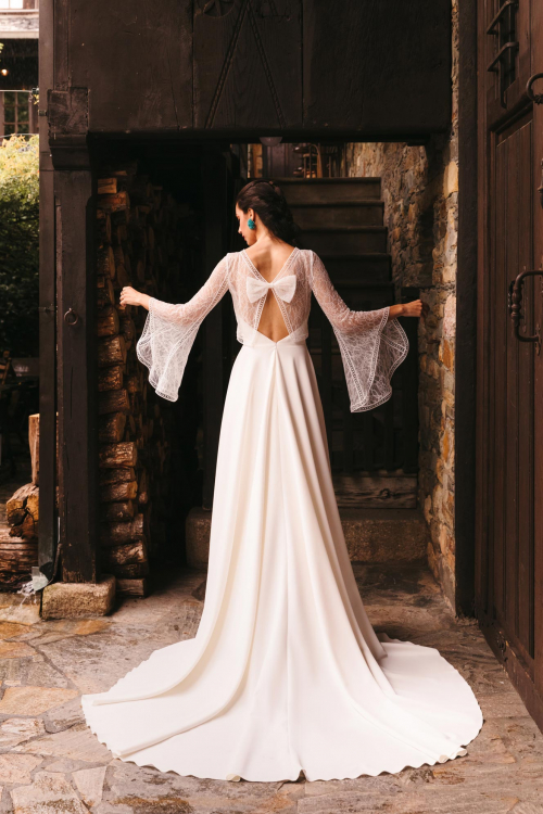 Vestidos de novia 2022 Silvia Fernandez Dafne 2