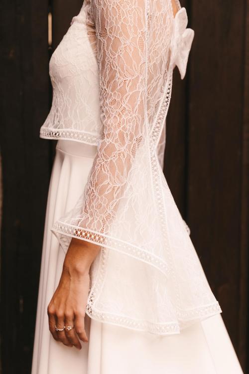 Vestidos de novia 2022 Silvia Fernandez Dafne 3