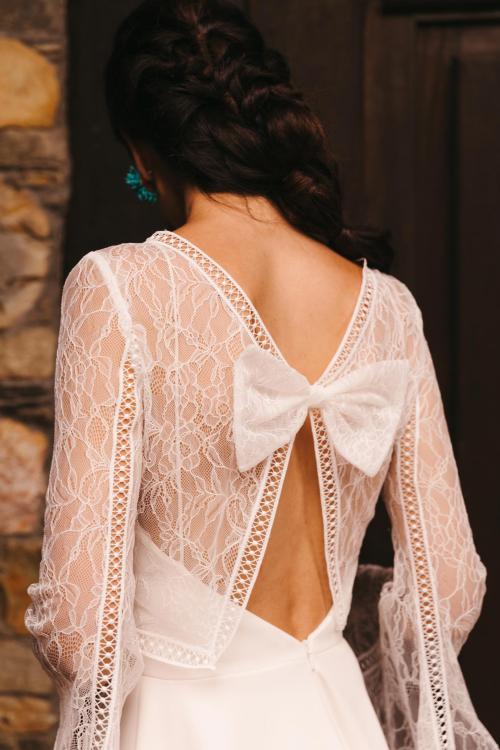 Vestidos de novia 2022 Silvia Fernandez Dafne 4