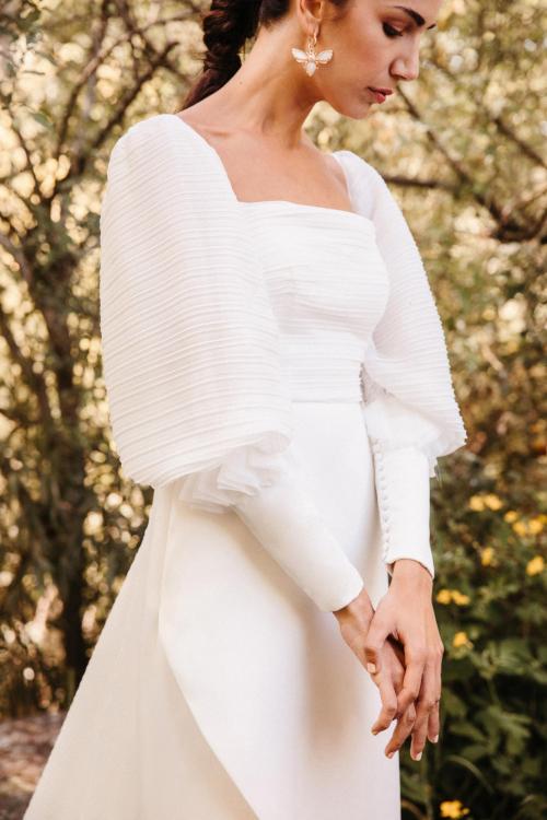 Vestidos de novia 2022 Silvia Fernandez Daisy 1
