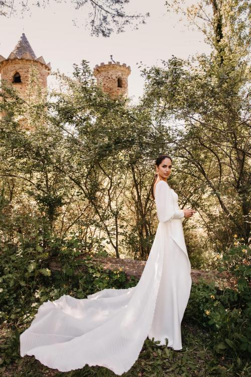 Vestidos de novia 2022 Silvia Fernandez Daisy 10