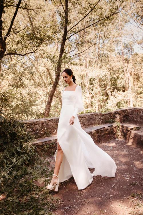 Vestidos de novia 2022 Silvia Fernandez Daisy 11