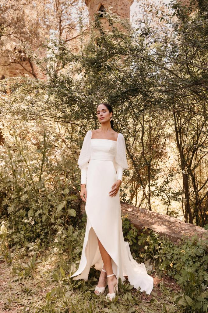 Vestidos de novia 2022 Silvia Fernandez Daisy 2