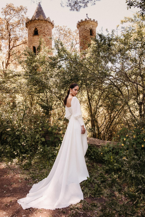Vestidos de novia 2022 Silvia Fernandez Daisy 7