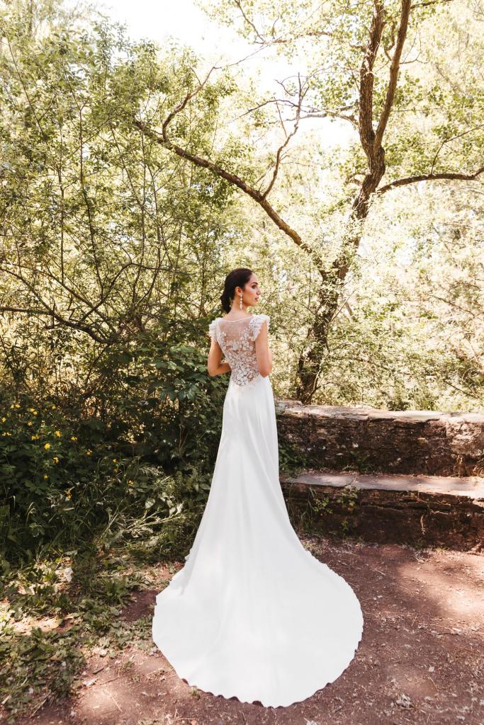 Vestidos de novia 2022 Silvia Fernandez Dakota 1