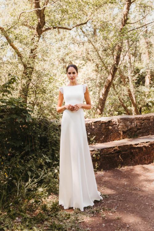 Vestidos de novia 2022 Silvia Fernandez Dakota 10