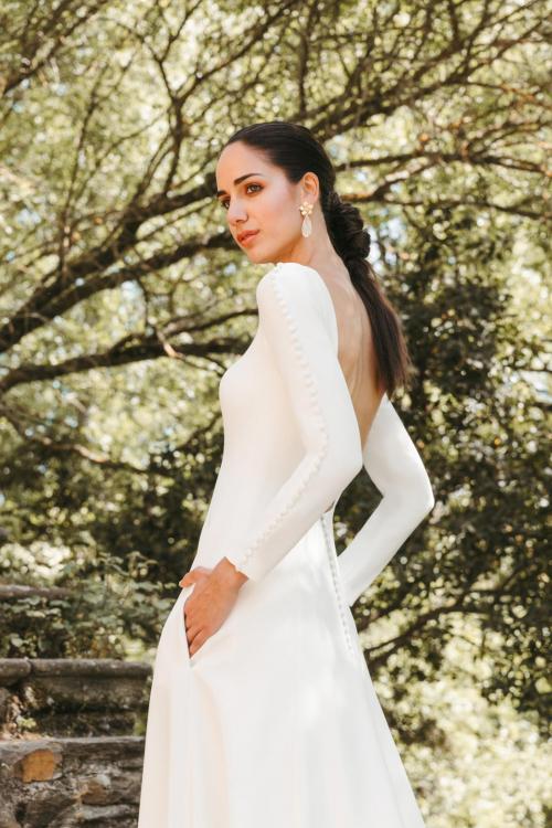 Vestidos de novia 2022 Silvia Fernandez Dalhi 7