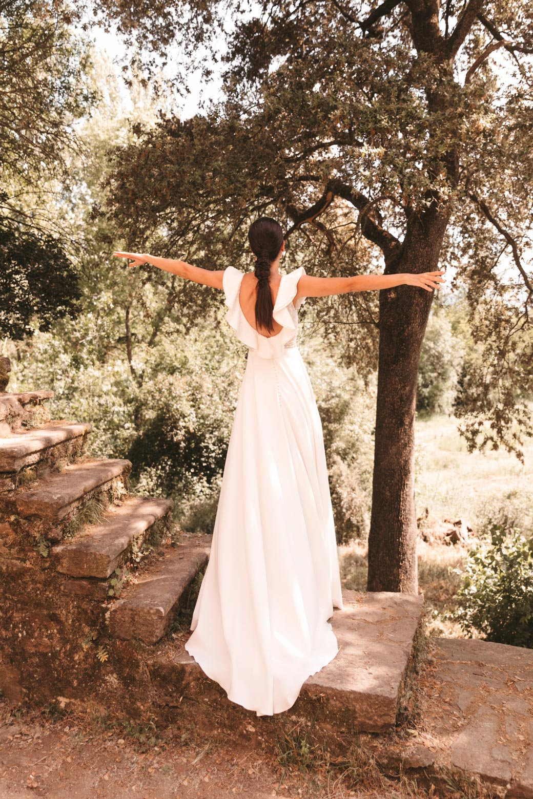 Rainbow: la nueva colección de vestidos de novia de Silvia Fernández