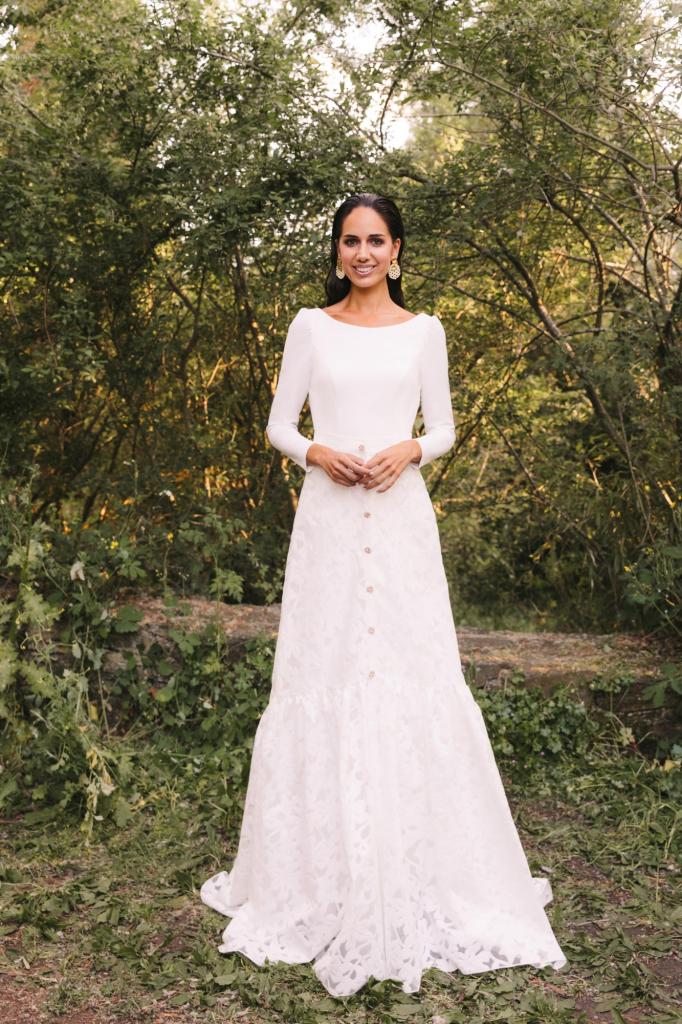 Vestidos de novia 2022 Silvia Fernandez Damasco 12