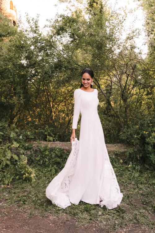 Vestidos de novia 2022 Silvia Fernandez Damasco 17