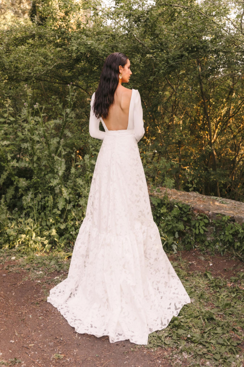 Vestidos de novia 2022 Silvia Fernandez Damasco 3