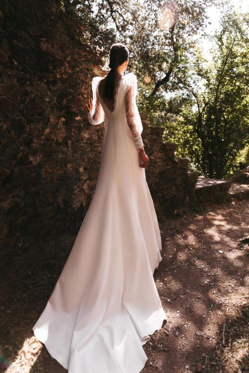 Vestidos de novia 2022 Silvia Fernandez Damisela 18