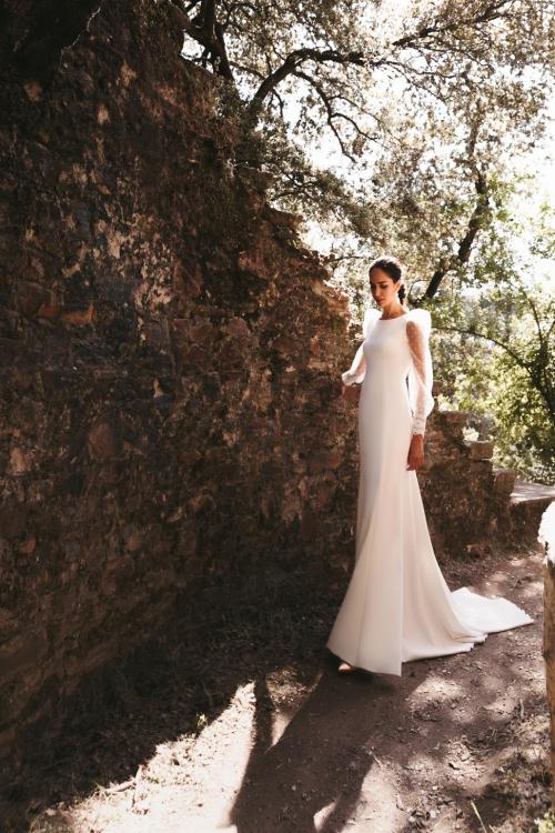 Vestidos de novia 2022 Silvia Fernandez Damisela 19