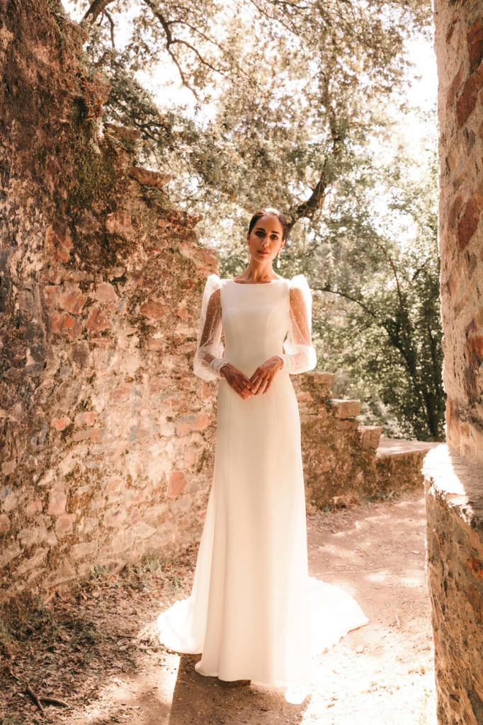 Vestidos de novia 2022 Silvia Fernandez Damisela 2