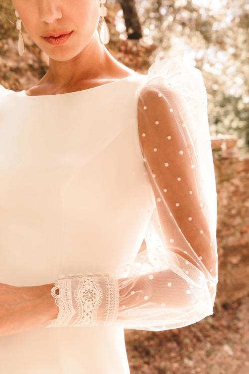 Vestidos de novia 2022 Silvia Fernandez Damisela 7