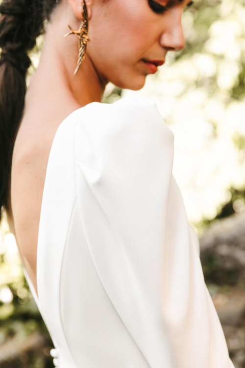 Vestidos de novia 2022 Silvia Fernandez Danesha 10