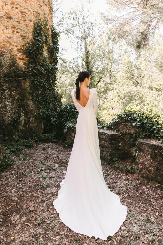 Vestidos de novia 2022 Silvia Fernandez Danesha 3
