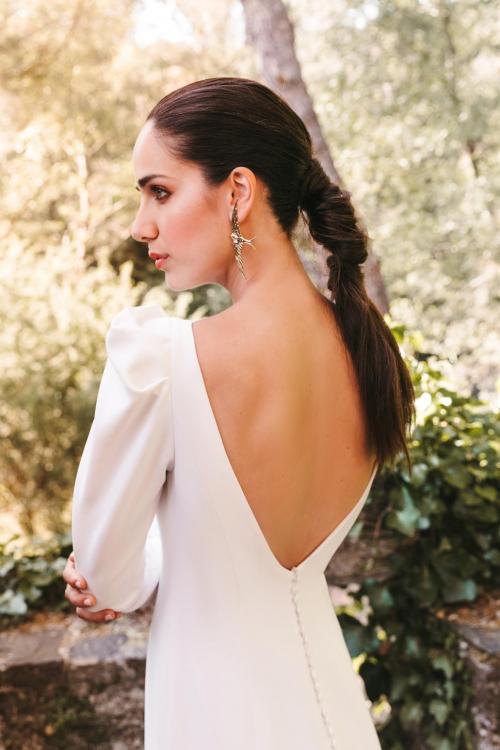 Vestidos de novia 2022 Silvia Fernandez Danesha 5