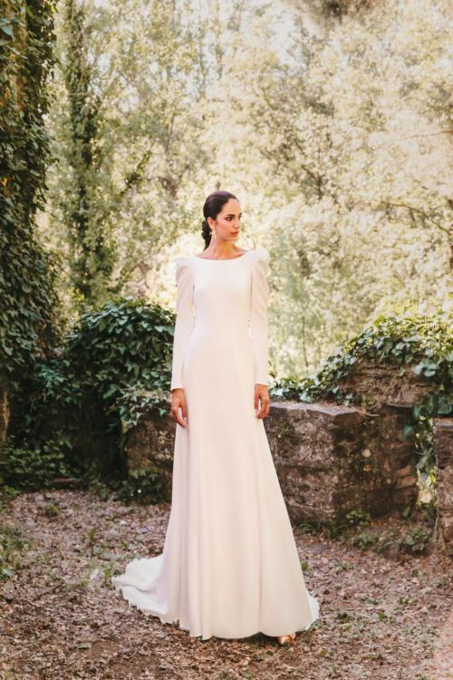 Vestidos de novia 2022 Silvia Fernandez Danesha 7