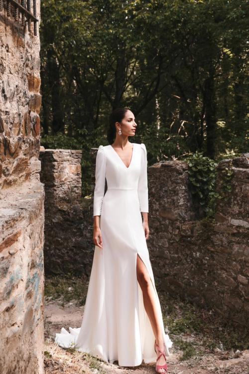 Vestidos de novia 2022 Silvia Fernandez Danza 1