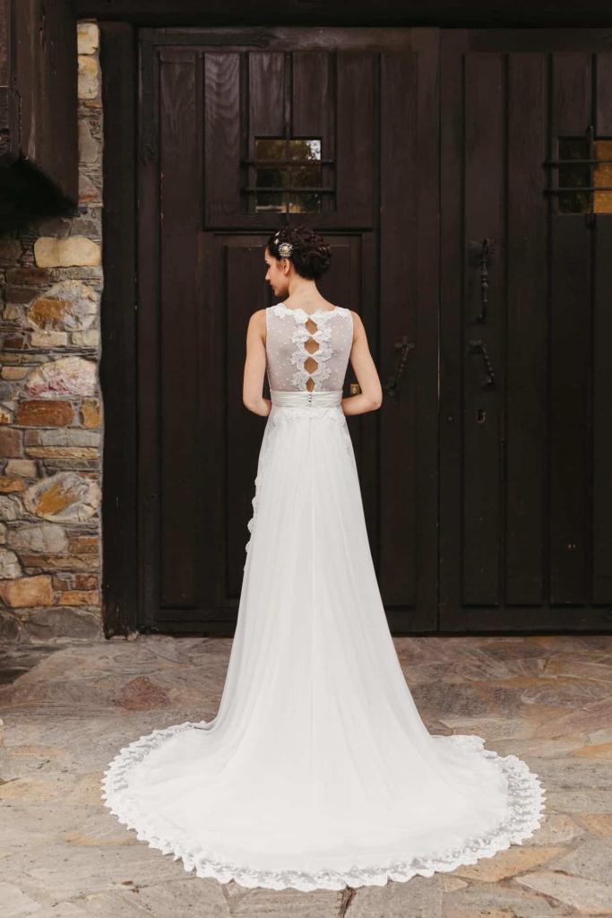 Vestidos de novia 2022 Silvia Fernandez Darline 1