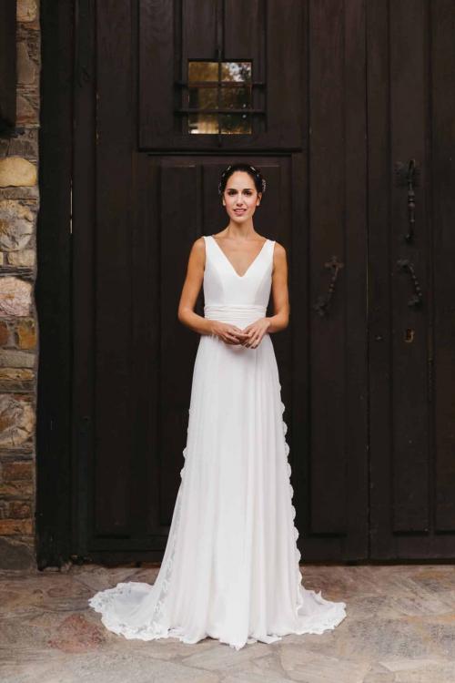 Vestidos de novia 2022 Silvia Fernandez Darline 4