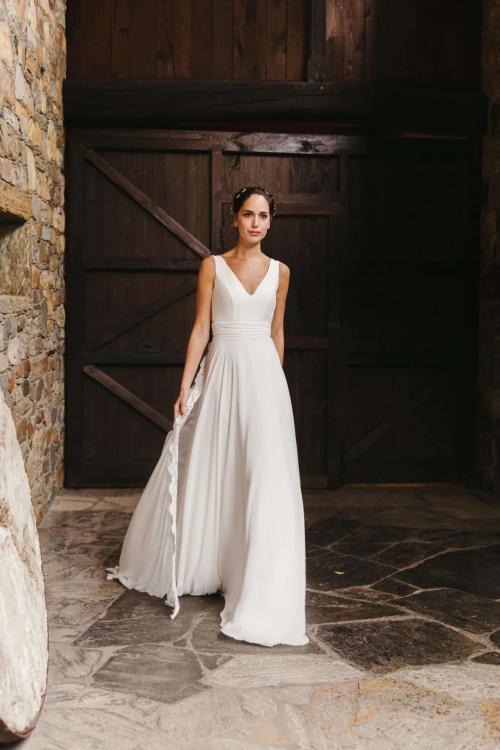 Vestidos de novia 2022 Silvia Fernandez Darline 6
