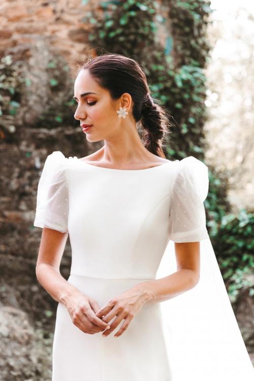Vestidos de novia 2022 Silvia Fernandez Daryna 3