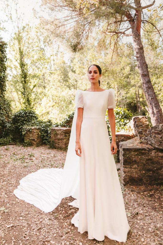 Vestidos de novia 2022 Silvia Fernandez Daryna 7