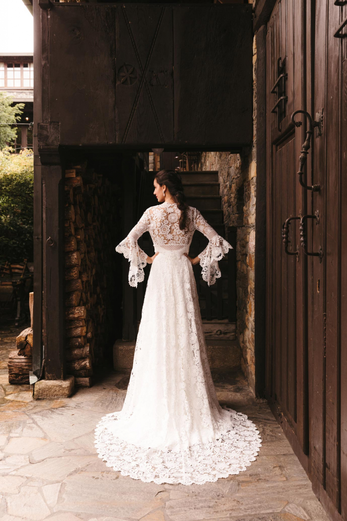 Vestidos de novia 2022 Silvia Fernandez Dayana 1