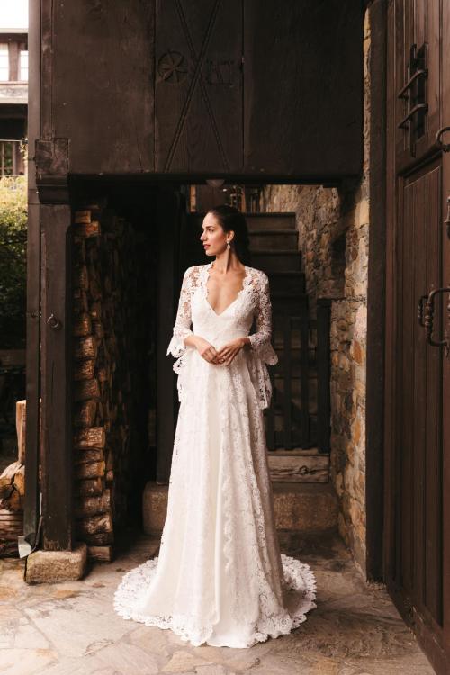 Vestidos de novia 2022 Silvia Fernandez Dayana 6