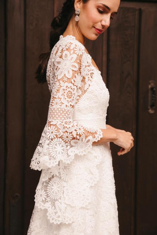 Vestidos de novia 2022 Silvia Fernandez Dayana 7