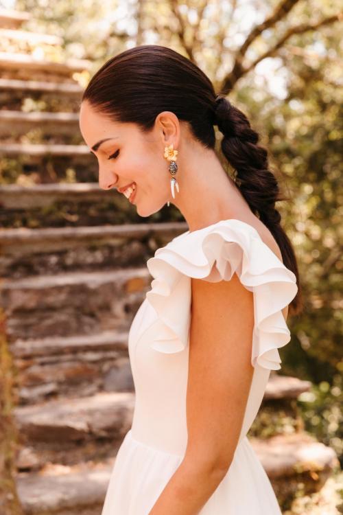 Vestidos de novia 2022 Silvia Fernandez Debora 2
