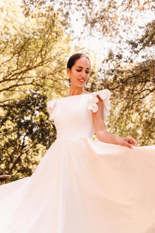 Vestidos de novia 2022 Silvia Fernandez Debora 5