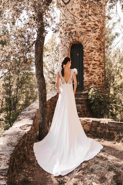 Vestidos de novia 2022 Silvia Fernandez Debut 1