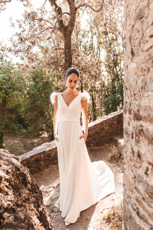 Vestidos de novia 2022 Silvia Fernandez Debut 13